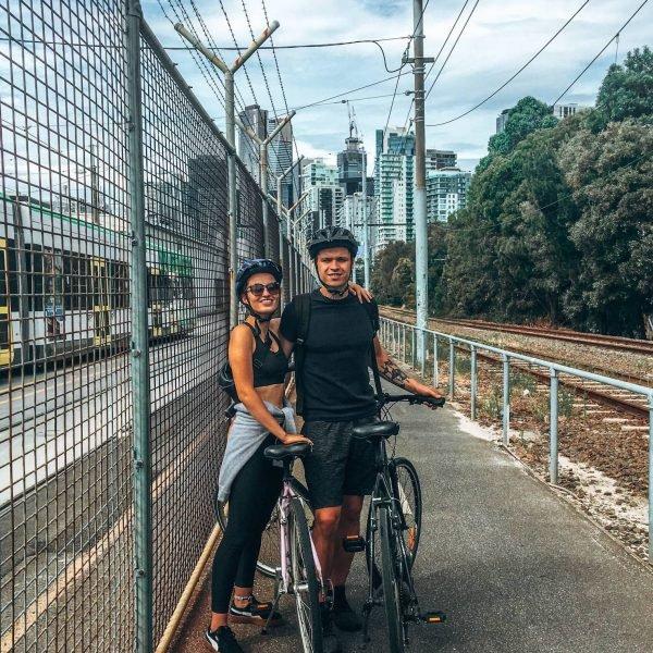 Julija ir Jaunius Australijoje
